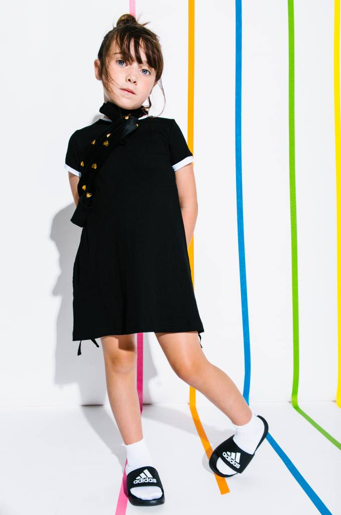 Crew Kids Basic Dress Black