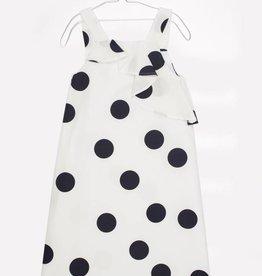 MOTORETA Lisa Dress Polka dots white