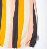 MOTORETA RUFFLED JUMPSUIT Multicolour stripes