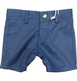 Crew Kids Short Chinos Navy