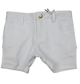 Crew Kids Short Chinos White