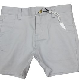Crew Kids Short Chinos Silver