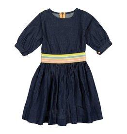 Teela DENIM WAIST BAND Dress dark denim