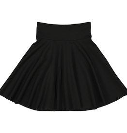 Teela PONTE Circle Skirt Black