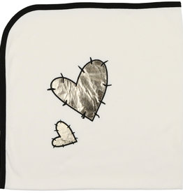 Mon Tresor Bebe You're in my Heart Blanket
