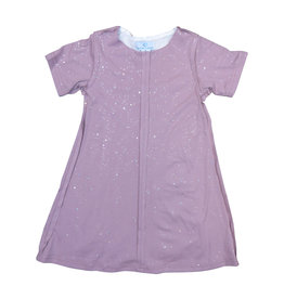 Whitlow & Hawkins SPARKLE DRESS MAUVE