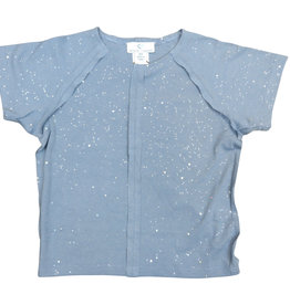 Whitlow & Hawkins SPARKLE TEE BLUE