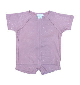 Whitlow & Hawkins SPARKLE BABY SET MAUVE