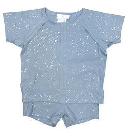 Whitlow & Hawkins SPARKLE BABY SET BLUE