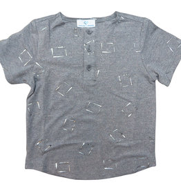 Whitlow & Hawkins METALLIC BABY BOY TEE