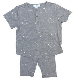Whitlow & Hawkins METALLIC BABY BOY SET