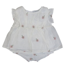 ColorFly WHITE PRINT BABY GIRL SET
