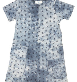 Whitlow & Hawkins DENIM TYE DYE  DRESS