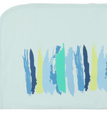 Mon Tresor Bebe Paint by Colors Blue Blanket