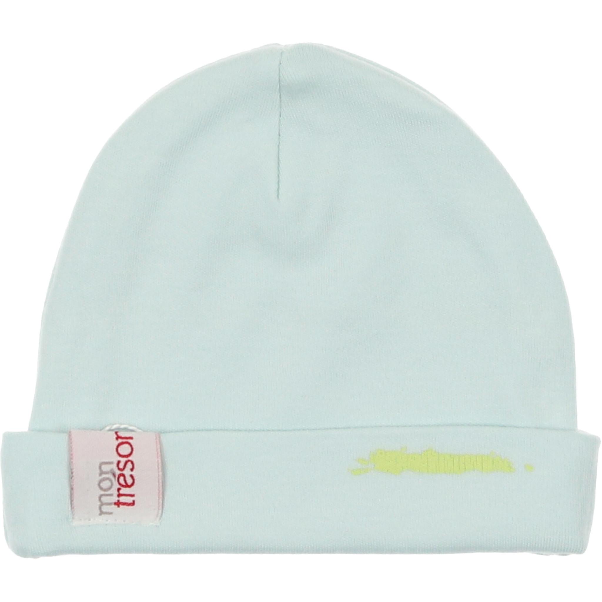 Mon Tresor Bebe Paint by Colors Blue Hat
