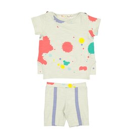Teela PAINT SPLATTER Baby Set Multi
