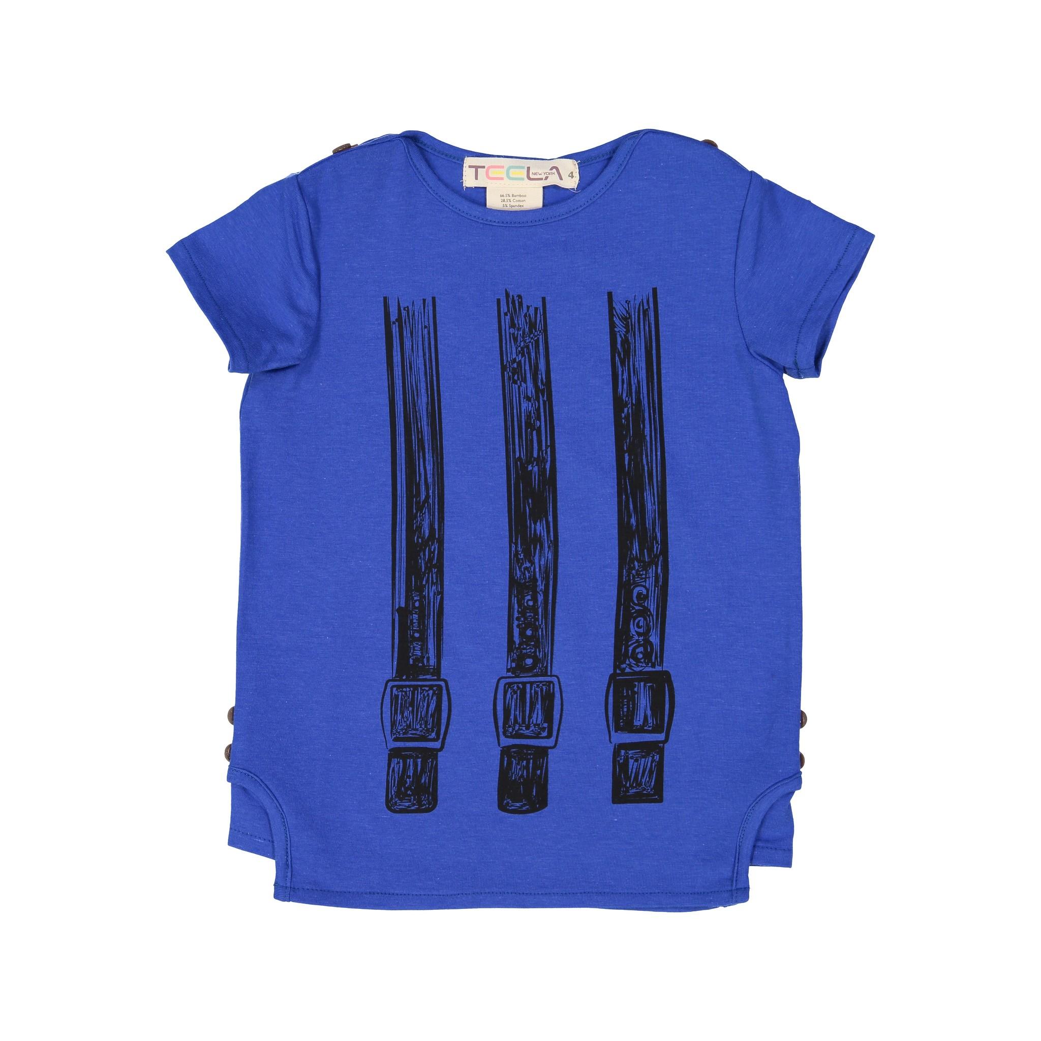 Teela BELT Boy's Tshirt Dazzling Blue