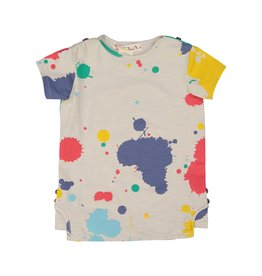 Teela PAINT SPLATTER Boy's Tshirt Multi