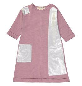 Teela STRAIGHT Patch Dress Woodrose