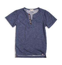 Appaman Sunset Henley Navy Blue Tee