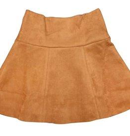 pompomme GIRL LOW YOKE PANNEL SKIRT Orange