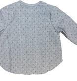 Charm Grey dot baby boy shirt