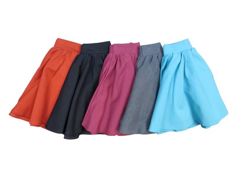 eb30ccdec Teela Ponte Circle Skirt rust - Lollipop kids boutique