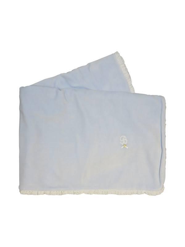 Babidu Blue valour receiving blankets