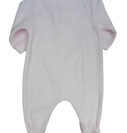 Tutto Piccolo BABY GROW WITH MOONFACE PINK