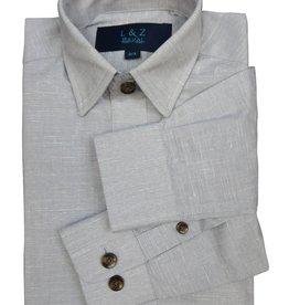 Leo & Zachary Chambray Ash Dress Shirt