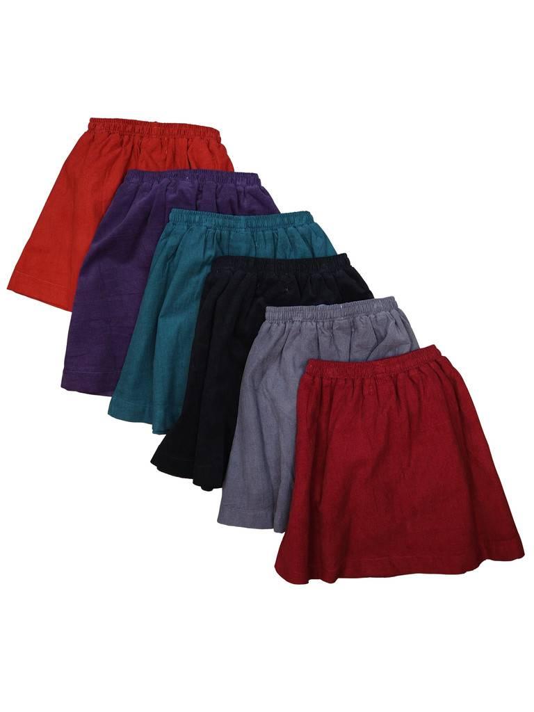 Bambinos Corduroy Skirt Rust
