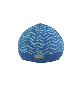 Coccoli Cotton Cap Blue Zig Zag