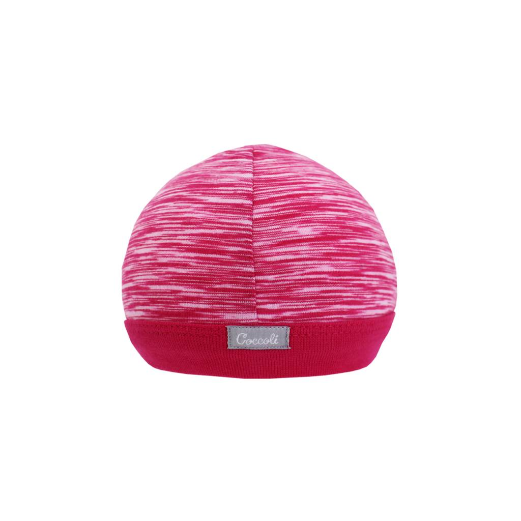 Coccoli Cotton Cap Pink Print
