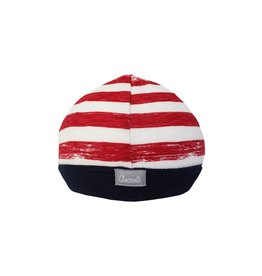 Coccoli Cotton Cap Red Striped