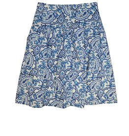 Charm Print Skirt