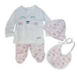 Boboli 4 pieces with gift case