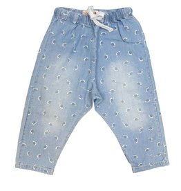 2dbe7624e Boboli Boys Denim Pants W/ Snails