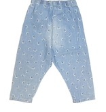 Boboli Boys Denim Pants W/ Snails