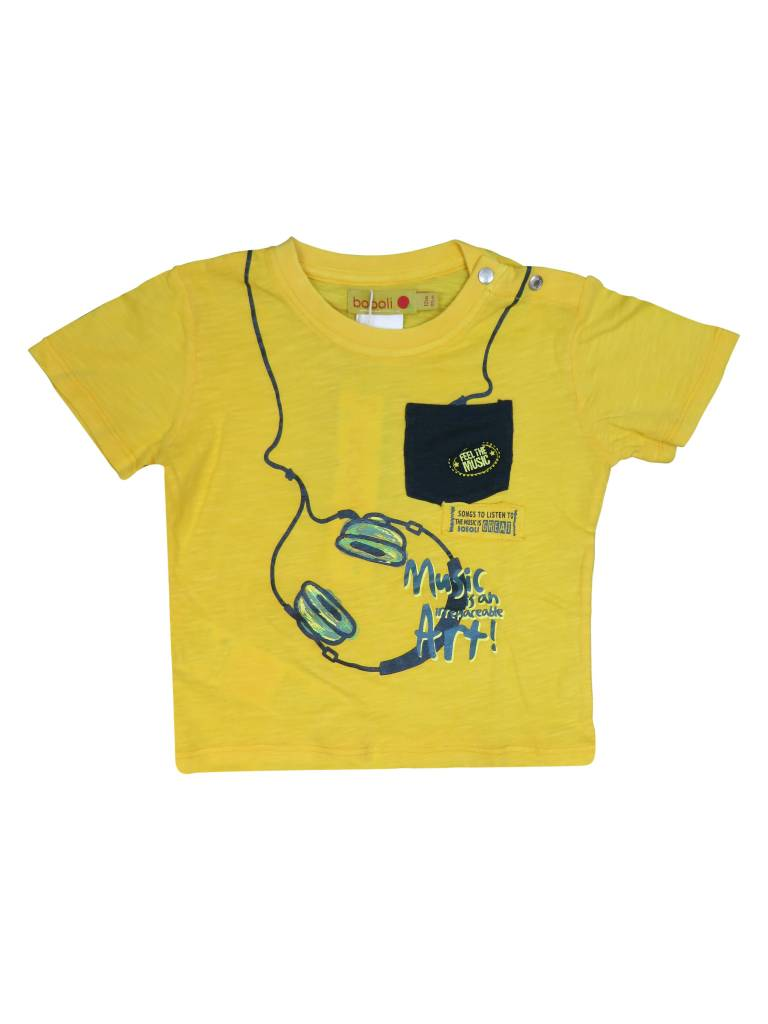 Boboli Boys T-Shirt W/Head phones