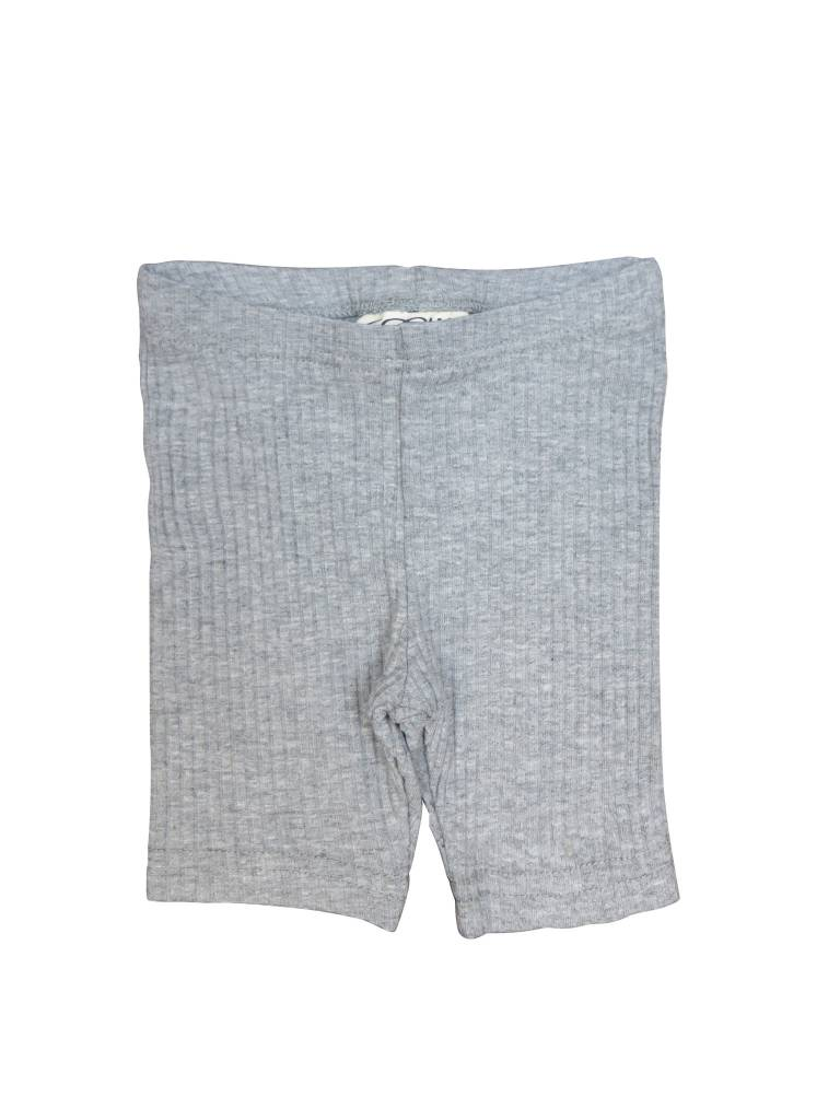 Crew Kids Ribbed Leggings Heather Grey