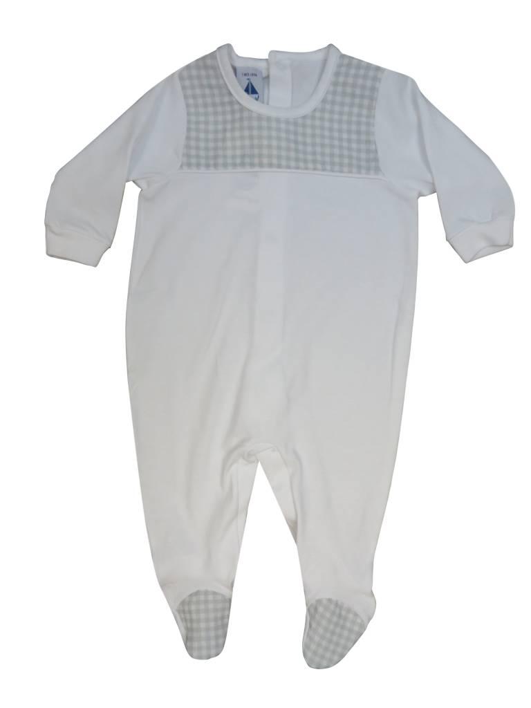 Babidu Grey Checkered Stretchie