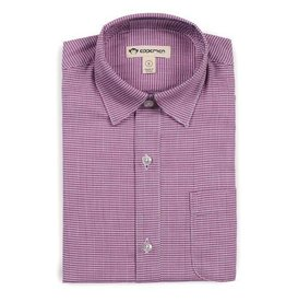 Appaman THE STANDARD SHIRT amethyst houndstooth