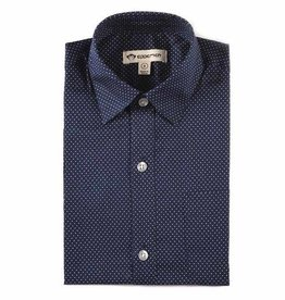 Appaman THE STANDARD SHIRT navy dots