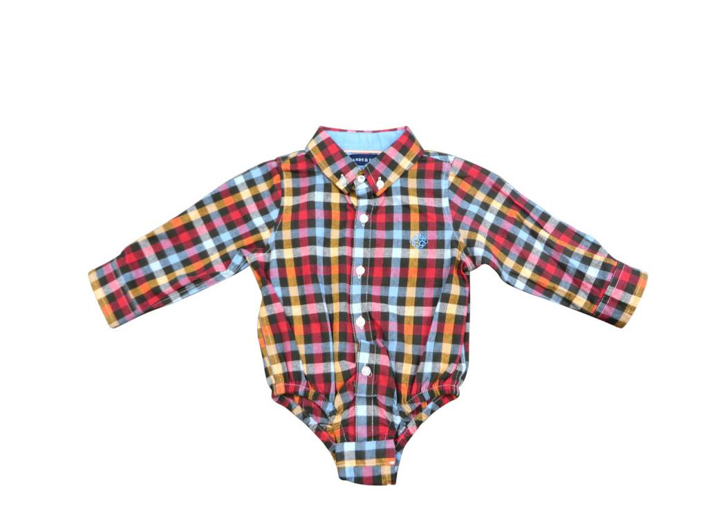 Andy & Evan Flannel Shirtzie