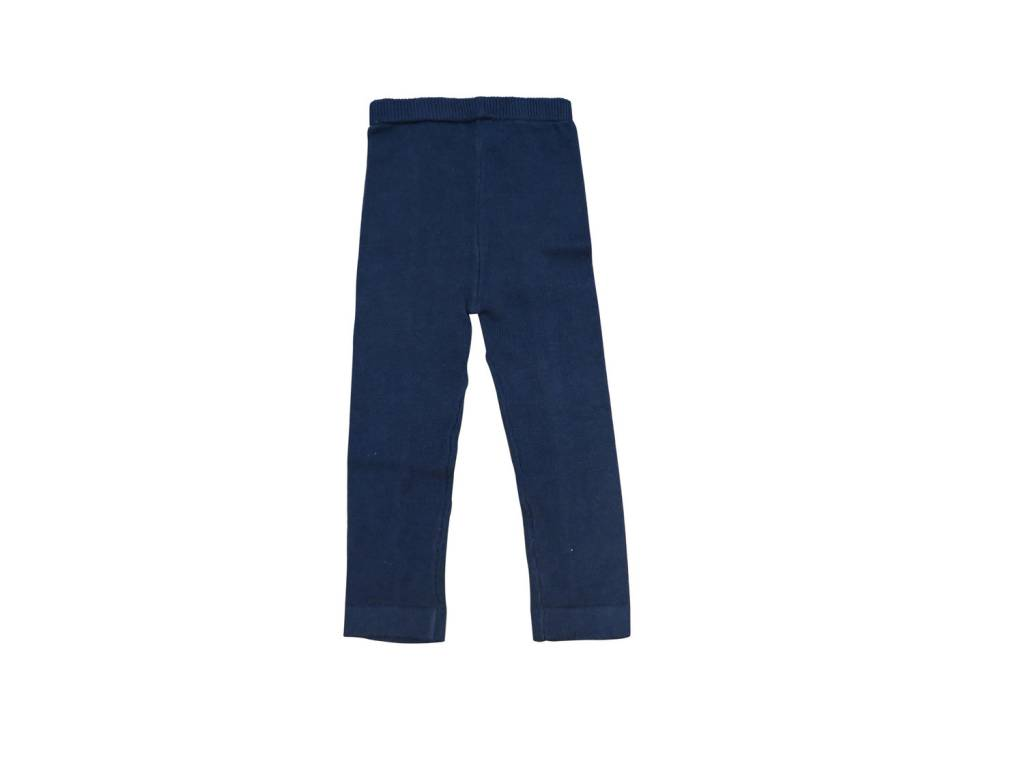 Andy & Evan Navy Sweater Knit Pants