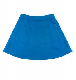 Luella Couture Blue Two Pocket Skirt