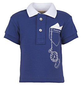 FRENCHY YUMMY Baby Polo With Pocket Print