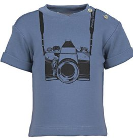 FRENCHY YUMMY Baby Top With Camera Print