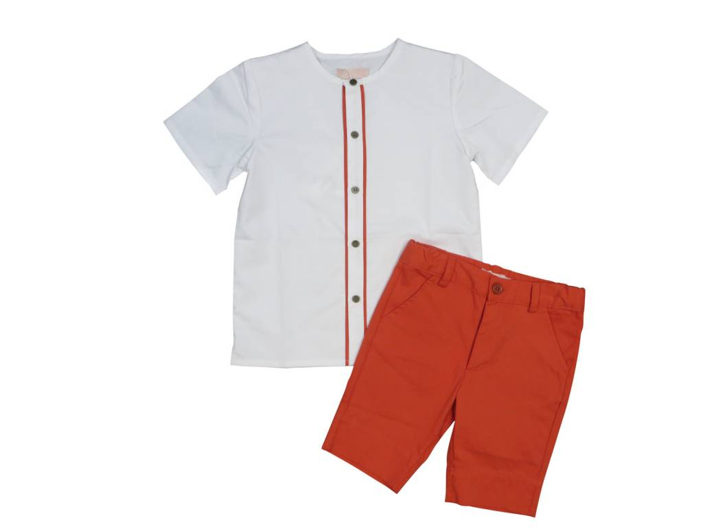 Charm Boys Shorts orange