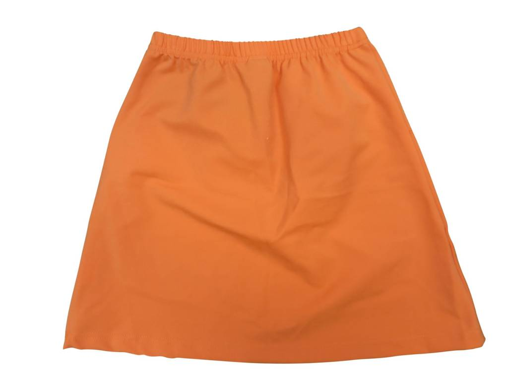 Crew Kids Circle Yoke Skirt Orange